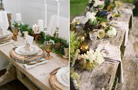 Wedding Table Setting 98 Rustic Wedding Table Settings Happywedd Com