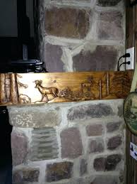 diy rustic fireplace mantel shelf kettle moraine hardwoods read