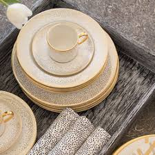 trousdale dinnerware set china collection kelly wearstler
