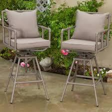 adjustable outdoor bar stools adjustable height patio bar stools you ll love wayfair