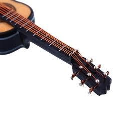 discount wooden 1 12 miniature guitar mini acoustic musical bass