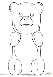 gummy bear coloring pages seasonal colouring pages 1857