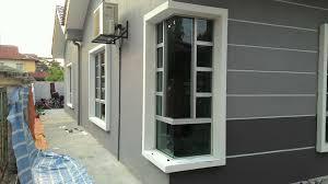 Cermin Tingkap Nako aluminium glass work home