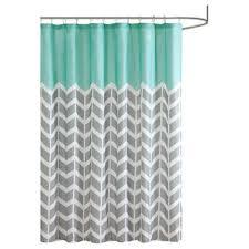 chevron shower curtains you u0027ll love wayfair