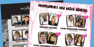 yearbook uk yearbook page ideas couples of the year spc yearbooks