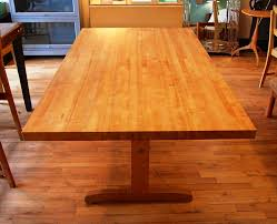 Classy Butcher Block Kitchen Table  OCEANSPIELEN Designs - Kitchen butcher block tables