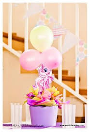 my little pony birthday party centerpiece playpatterns net
