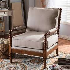 Beige Accent Chair Classic Beige Accent Chairs Chairs The Home Depot