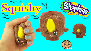diy squishy cookie nut shopkins season 4 inspired easy craft do it