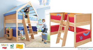 chambre enfant mezzanine lit mezzanine matti haba lits meubles chambre d enfant et