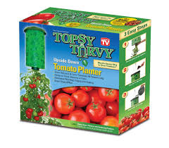 Upside Down Tomato Planter by Cheap Topsy Turvy Upside Down Tomato Planter