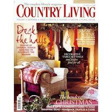 country living subscription papergrain country living magazine december 2009