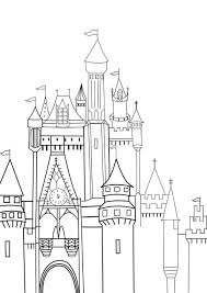 disney castle sketch by rini2jessie on deviantart