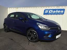 renault blue renault clio 1 5 dci 90 dynamique s nav 5dr auto special renault