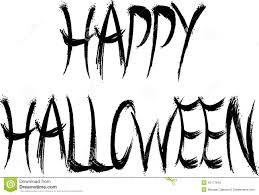 happy halloween in gothic font stock photo image 45177642