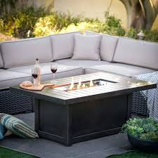 outdoor coffee table height gas fire pit coffee table coffee table napoleon chat height fire pit