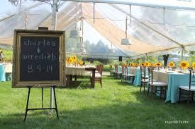 sunflower and burlap wedding reception migonis home