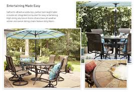 Patio High Table And Chairs Shop The Safford Patio Collection On Lowes Com