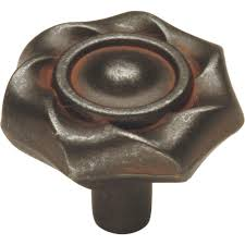 Kitchen Cabinets In Ri by Hickory Hardware Craftsman 1 1 4 In Black Iron Cabinet Knob P2170