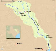 Texas Rivers Map Case Study The Trinity River In Texas Water Reuse