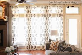 Easy Way To Hang Curtains Decorating Curtain How Far Should A Curtain Rod Extend Past Window Hang