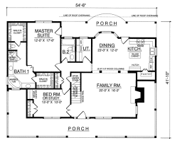 house plans farmhouse country houseplans com main floor plan plan 40 328 houses houseplans