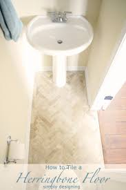 Floor Tile by Best 25 Herringbone Tile Floors Ideas On Pinterest Tile