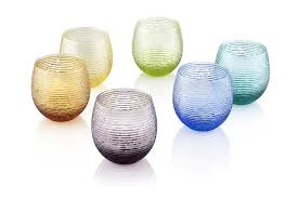 bicchieri design bicchieri colorati idee per apparecchiare la tavola