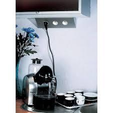 prise angle cuisine multiprise pour angle de plan de travail ou dessous de meuble haut