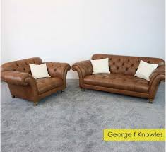 Wade Leather Sofa Wade Henry Large Leather Sofa Cuddle Chair