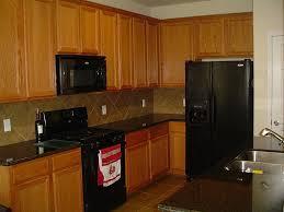 tag for small kitchen design with black appliances nanilumi