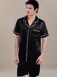 men u0027s summer silk pajamas sw67ch