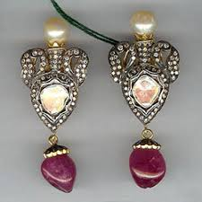 diamond studd diamond earrings exporter from hyderabad