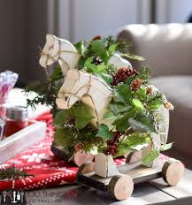 diy christmas decor wooden horse 100 things 2 do