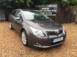 used toyota avensis cars for sale in hull east yorkshire motors