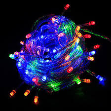 online shop christmas lights 10 meters long color waterproof led