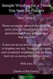 thank you for funeral flowers 33 best funeral thank you cards funeral note and card ideas