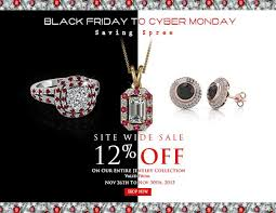 black friday jewelry sale get hottest deals and offers on discount diamond jewelry