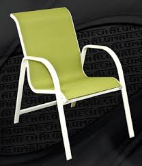 Stackable Sling Patio Chairs by Alumatech Summer Sale