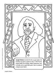 famous black inventors coloring pages coloring page cartoon
