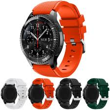 silicone bracelet watches images Hot sale watchbands black 22mm luxury brand new fashion sports jpg