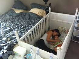 bed on the floor brilliant way my wife figured out how to feed the baby at night