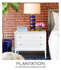 side table 2 drawers connor side table painted plantation