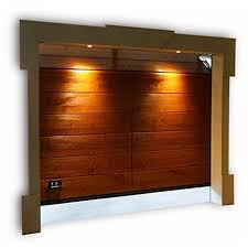 porta sezionale modello galileo portone sezionale con pannelli in legno massello