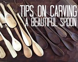 Carving Wooden Kitchen Utensils tips on carving a beautiful wooden spoon youtube
