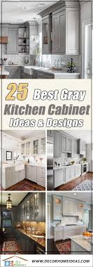 ideas for grey kitchen cabinets 25 best gray kitchen cabinets ideas for 2021 decor home ideas