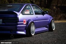 tuner cars cars movie the saitama style ae86 speedhunters