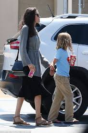 brads deal black friday target angelina jolie looks every bit the normal mom at target daily