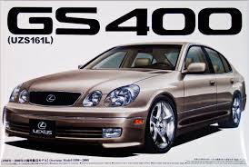 lexus gs400 parts aoshima 02384 lexus gs400 uzs161s 1 24 scale kit plaza japan