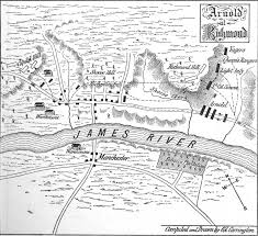 Map Of Richmond Va When Benedict Arnold Came To Town Church Hill People U0027s News